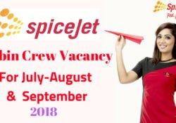 Spice-jet cabin crew
