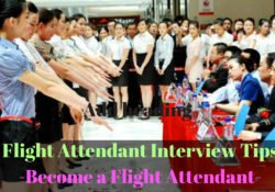 flight attendant interview tips