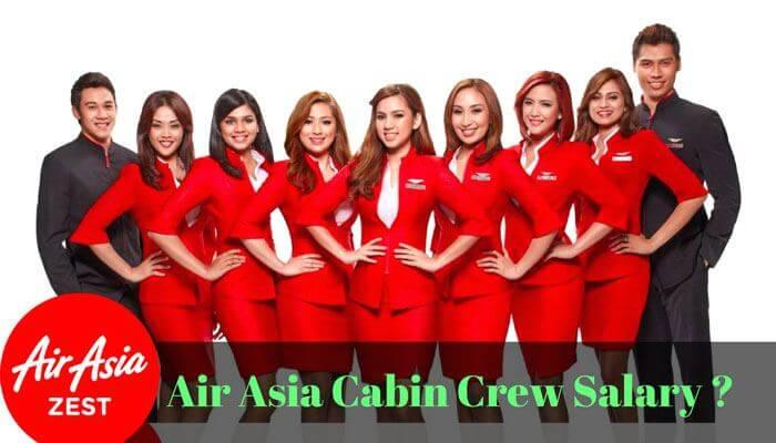 air asia cabin crew salary