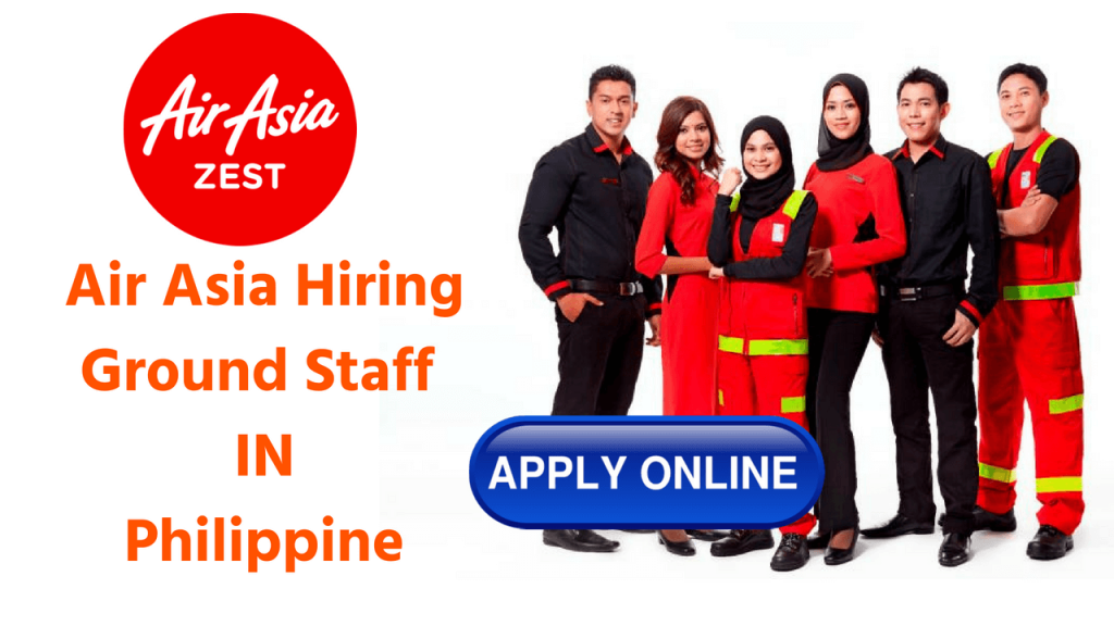 Air Asia Hiring Ground Staff
