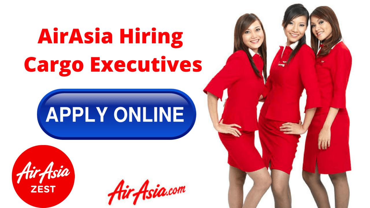 AirAsia Hiring Cargo Operations Executives