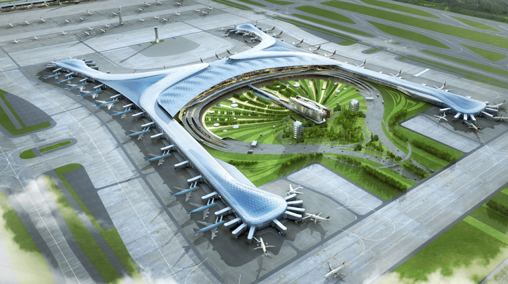Top 10 Luxurious Airports
