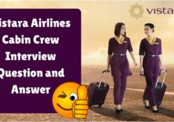 Vistara Airlines Cabin Crew