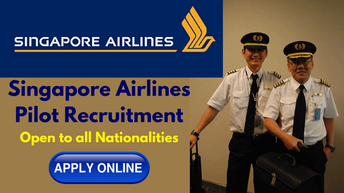 singapore airlines pilot recruitment