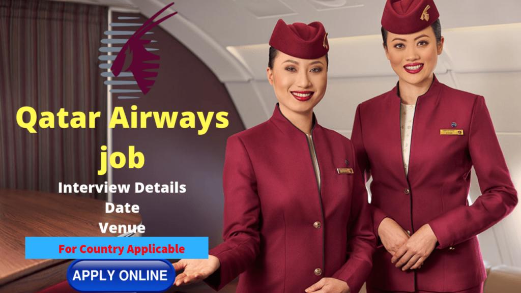 Qatar airways job