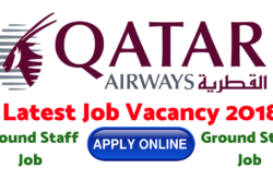 Qatar Airways Ground Staff Vacancy