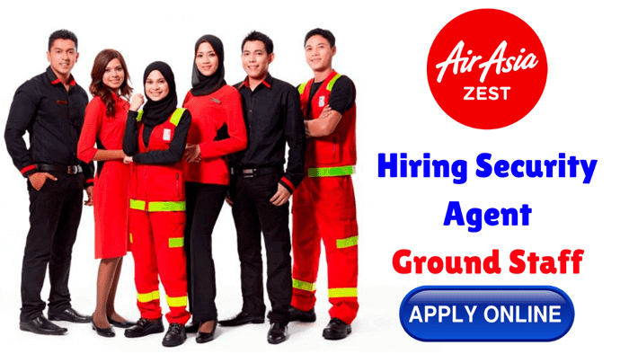 airasia hiring ground staff