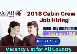 Qatar Airways Cabin Crew Jobs