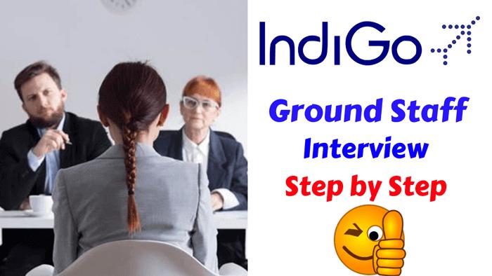 indigo airlines ground staff interview rounds