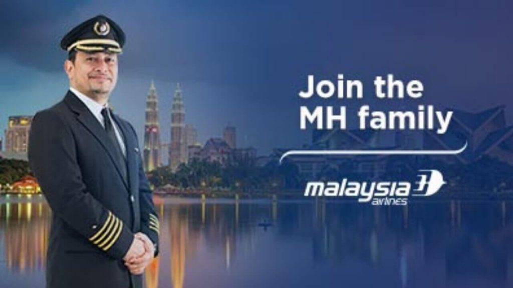 Malaysia Airlines Career As Pilot 2018 – Check for Apply Online