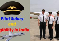 pilot salary in India