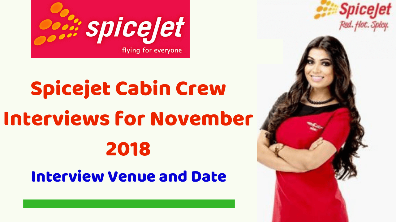 Spicejet Cabin Crew Interviews