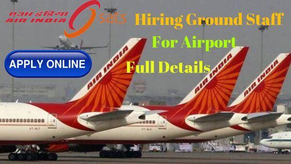 air india sats hiring