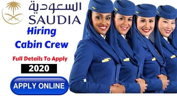 saudi airlines career as female cabin crew 2019  uae