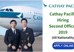 Cathay Pacific Second Officer