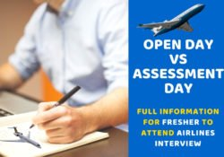 Open Day VS Assessment Day