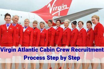 virgin atlantic cabin crew recruitment