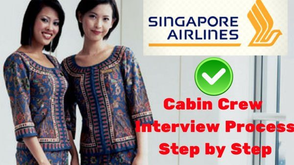 Flight Attendant Interview process Step by Step Singapore