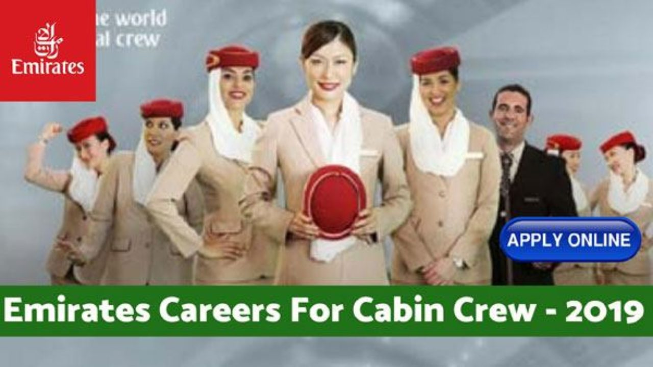 Emirates Careers of Cabin Crew for Fresher in 2019
