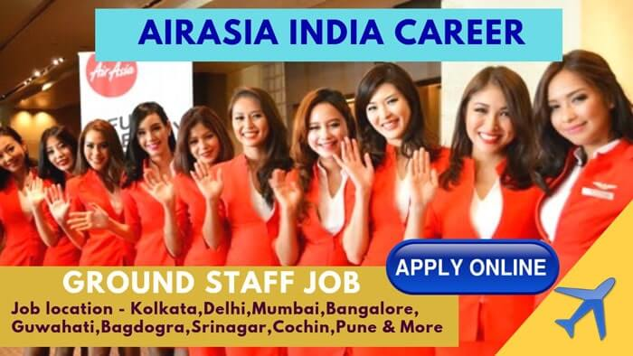 AirAsia India Career For Freshers In 2020 [Apply Now Online]