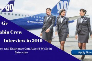 goair cabin crew interview
