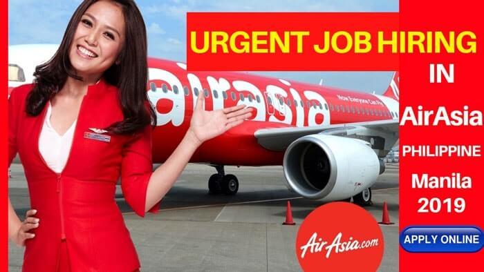 urgent job hiring manila