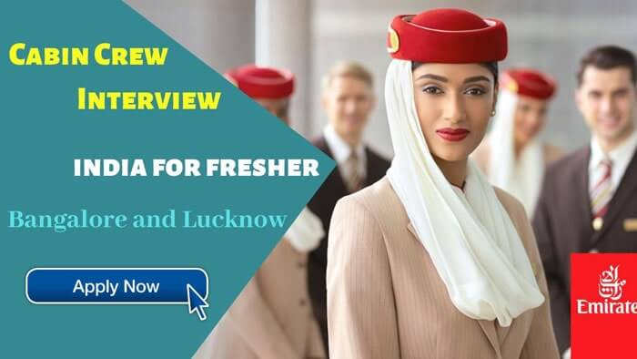 Cabin Crew Interview In India Of Emirates Airlines Apply