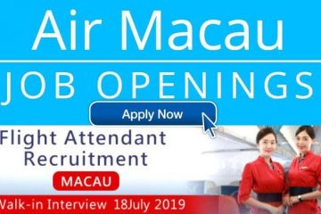 air macau jobs