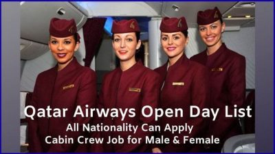 Singapore Airlines Cabin Crew Recruitment 2019 – Apply Online