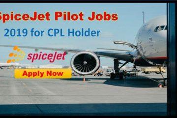 spicejet pilot jobs