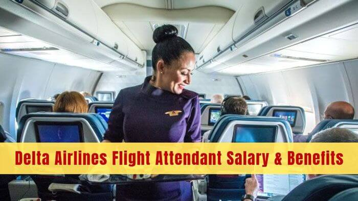 delta airlines flight attendant salary