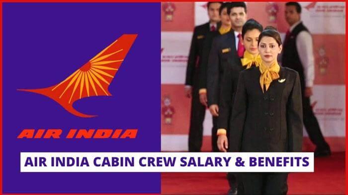 air india cabin crew salary