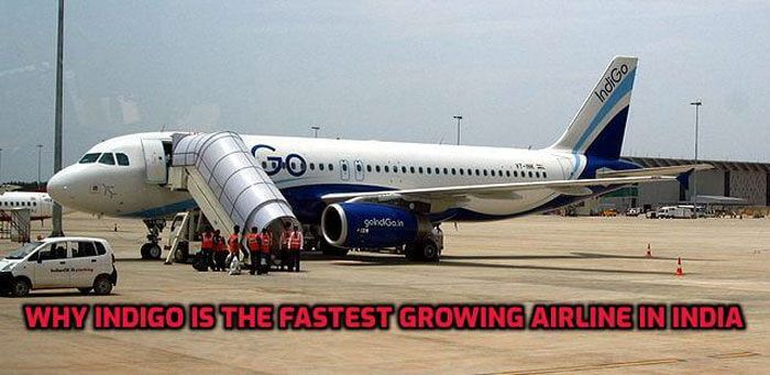 indigo fastest growing airline india
