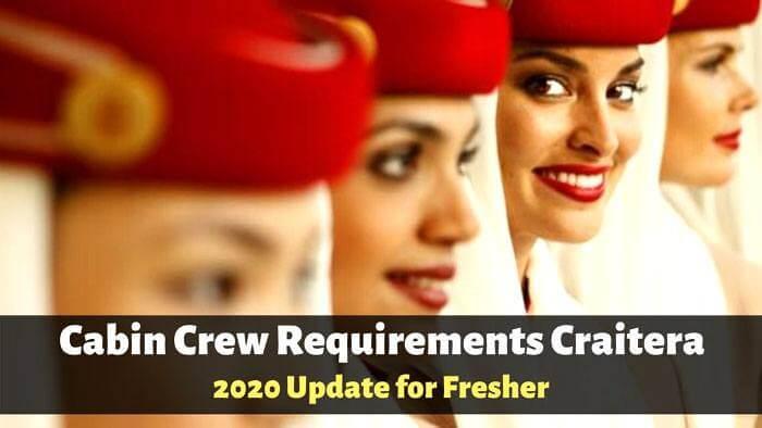 cabin crew requirements