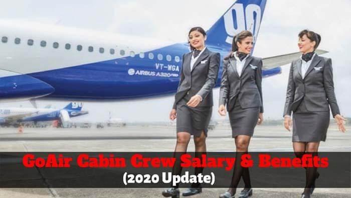 go air cabin crew salary
