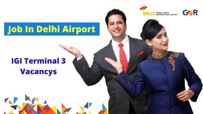 job delhi airport