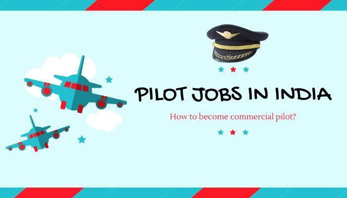pilot jobs in india