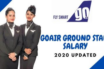go air ground staff salary