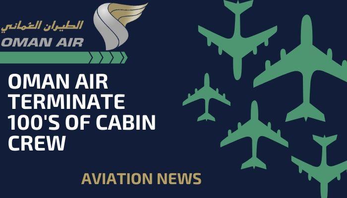 oman air terminate cabin crew covid