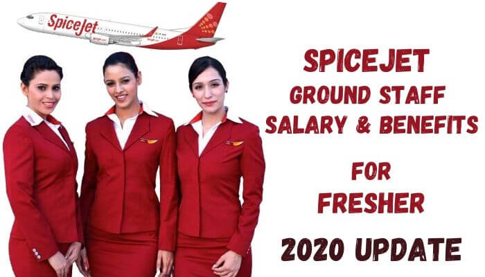 spicejet ground staff salary