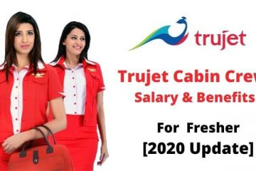 trujet cabin crew salary