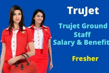 trujet ground staff salary