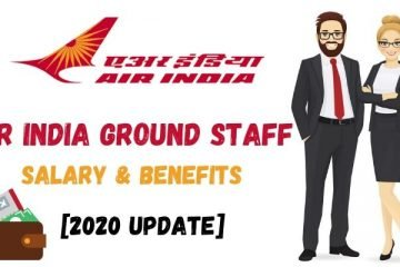 air india ground staff salary
