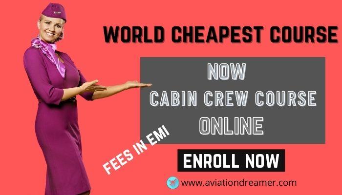 cabin crew course