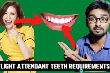 flight attendant teeth requirements