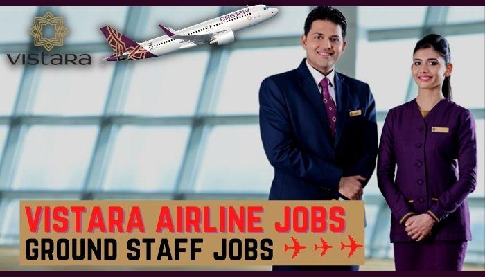 vistara airline jobs